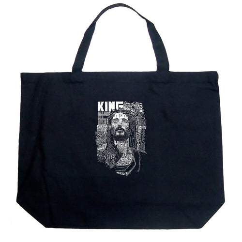 Large Tote Bag - JESUS