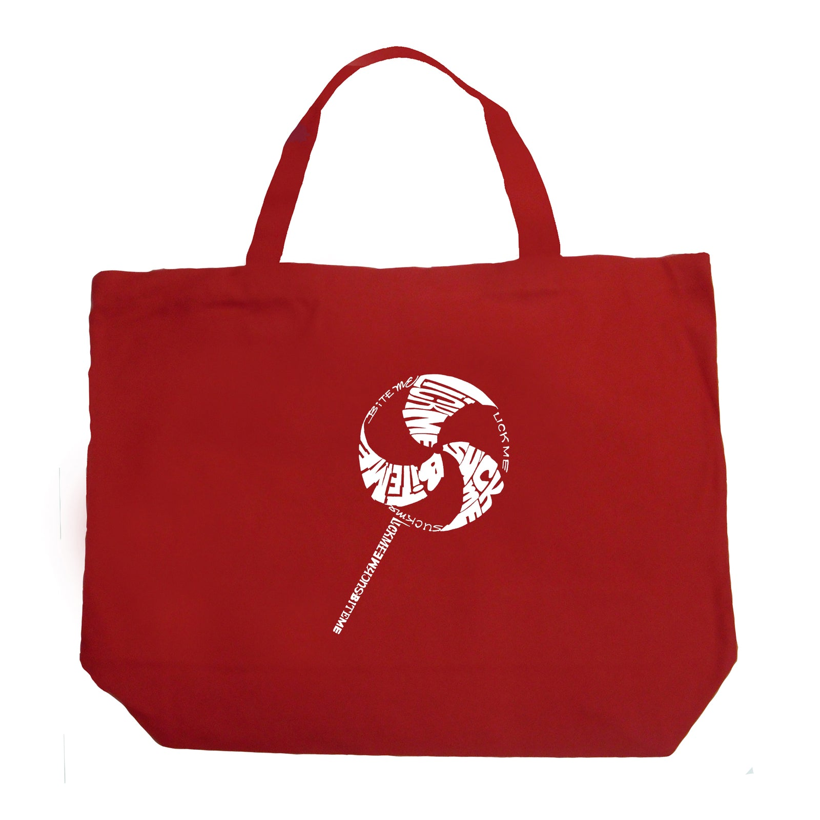 Large Tote Bag - Lollipop