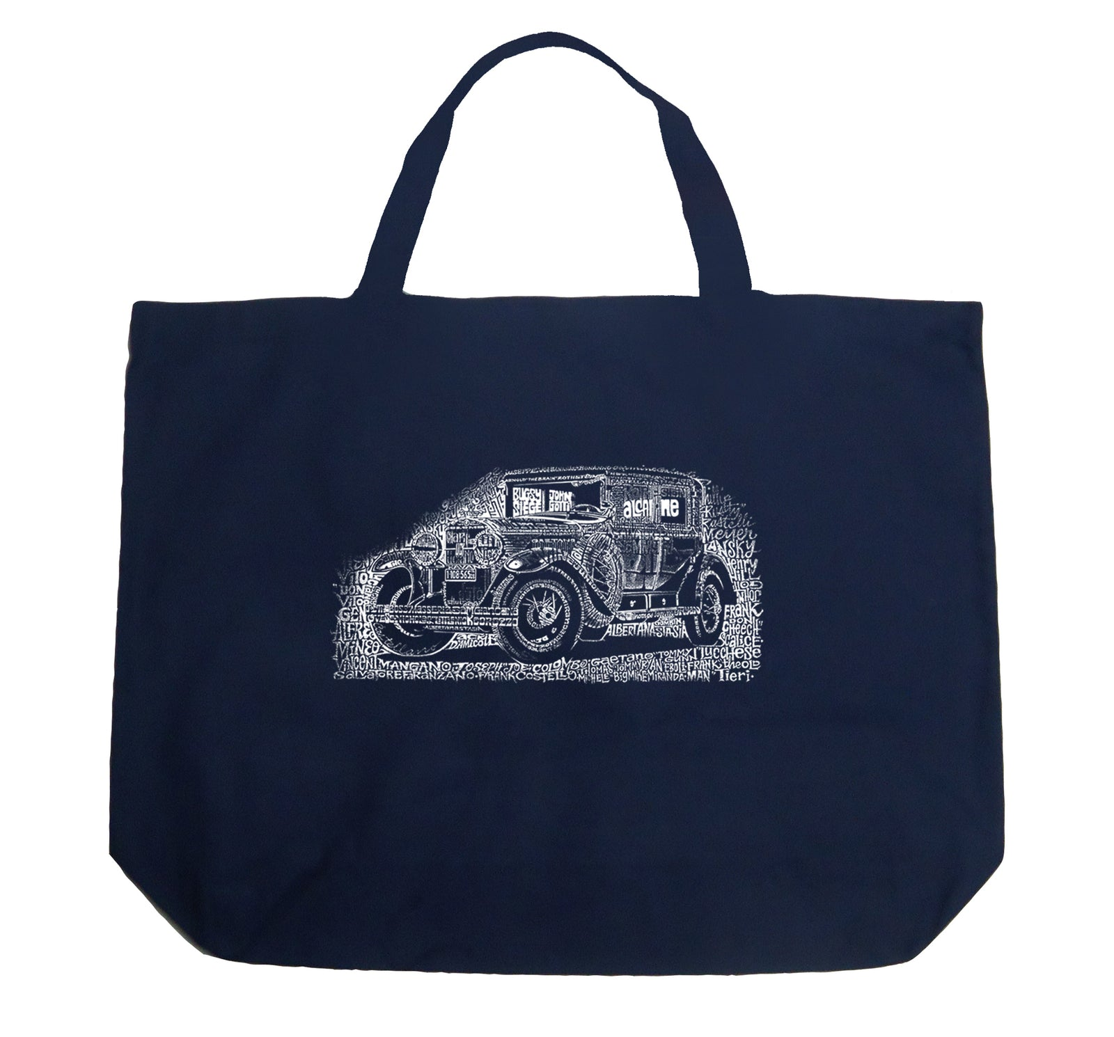 Large Tote Bag - Legendary Mobsters