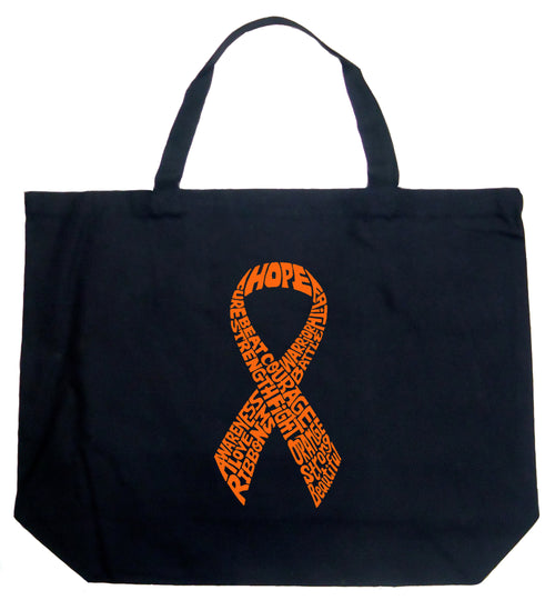 Large Word Art Tote Bag - Ms Ribbon