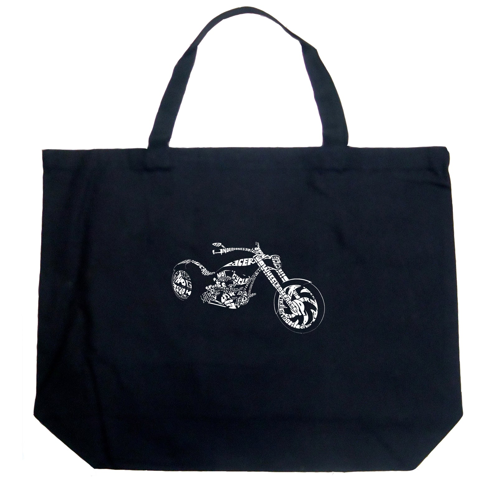 Large Tote Bag - MOTORCYCLE