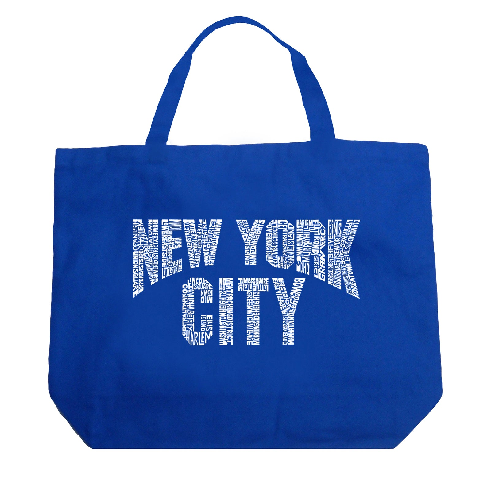 Large Tote Bag - NYC NEIGHBORHOODS