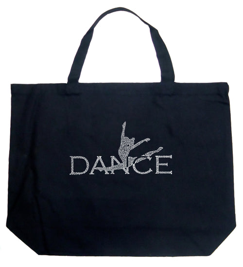 Large Tote Bag - Dancer