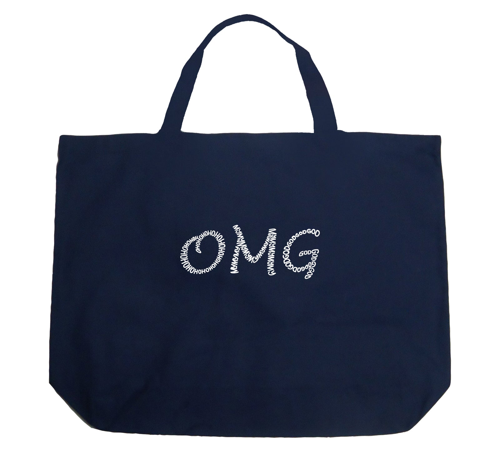 Large Tote Bag - OMG