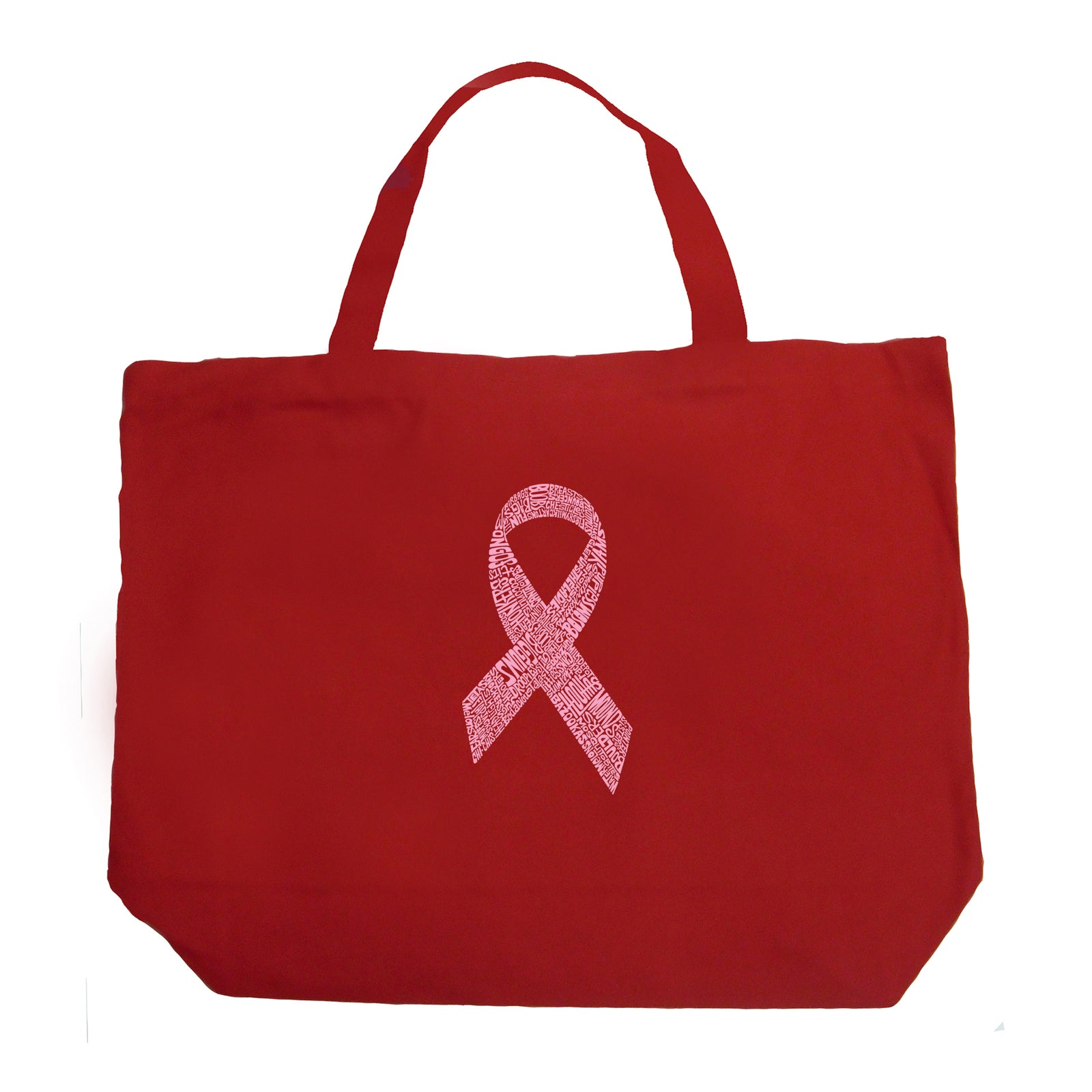 Large Tote Bag - CREATED OUT OF 50 SLANG TERMS FOR BREASTS