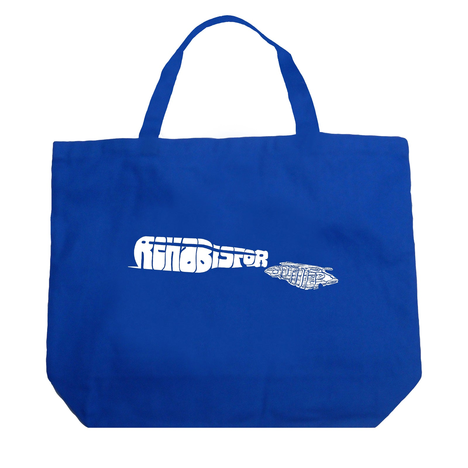 Large Tote Bag - REHAB IS FOR QUITTERS