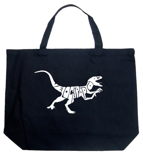 Large Tote Bag - Velociraptor