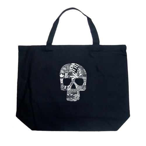 Large Tote Bag - Sex, Drugs, Rock & Roll