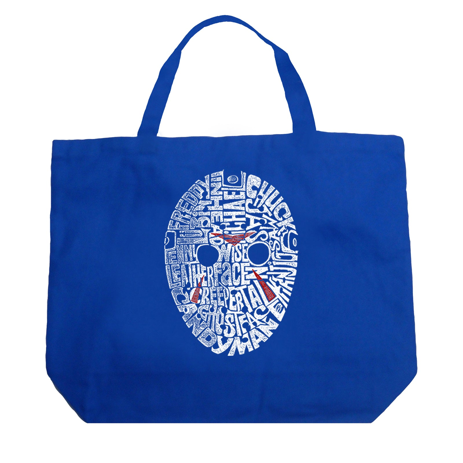 Large Tote Bag - Slasher Movie Villians