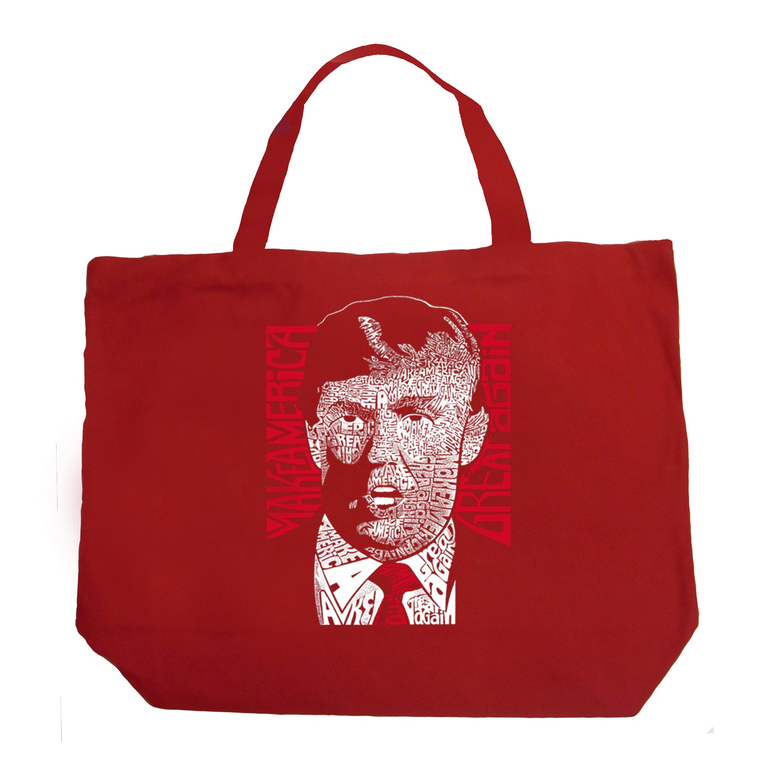 Large Tote Bag - TRUMP  - Make America Great Again