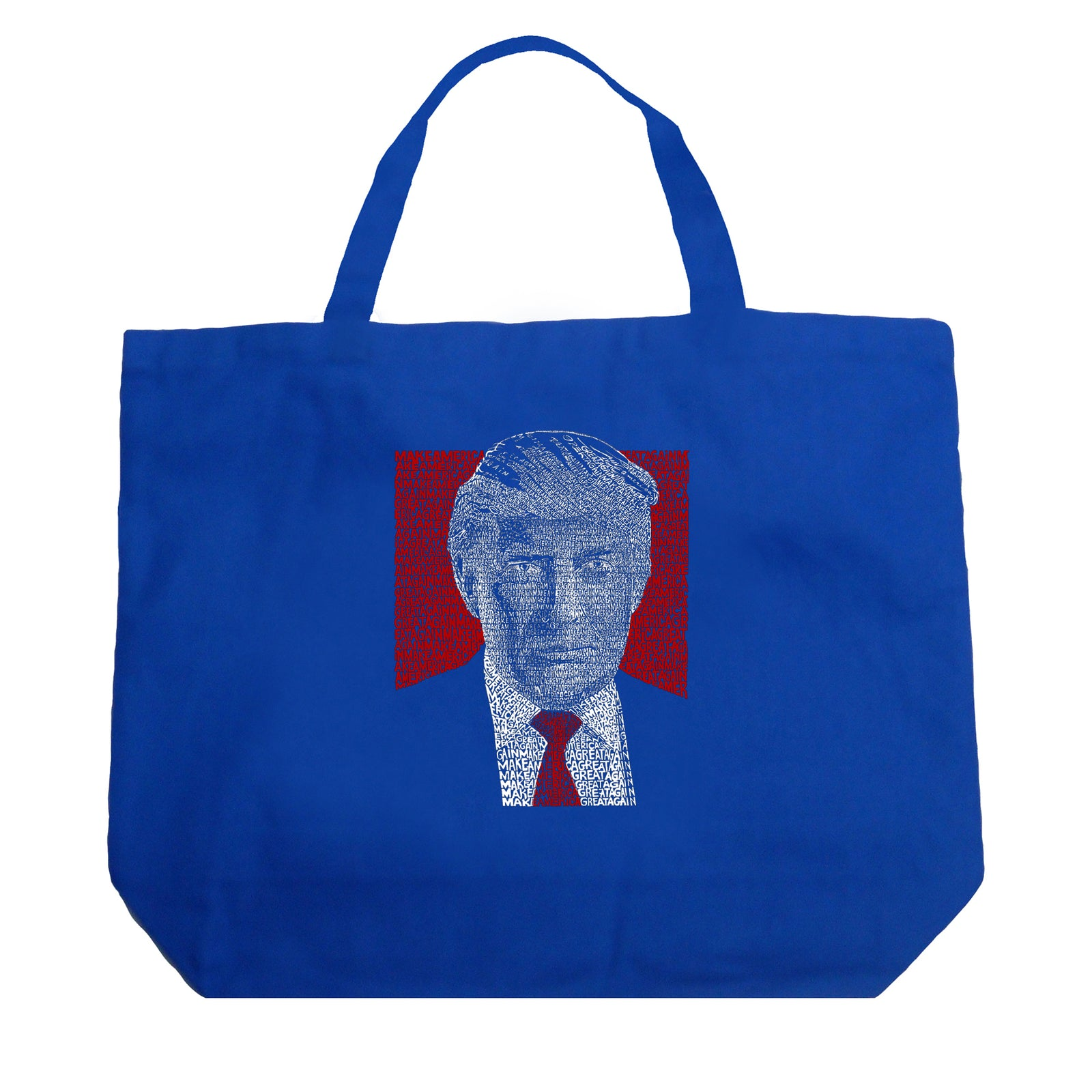 Large Tote Bag - TRUMP 2016 - Make America Great Again