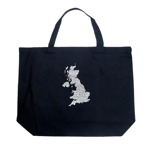 Large Tote Bag - GOD SAVE THE QUEEN