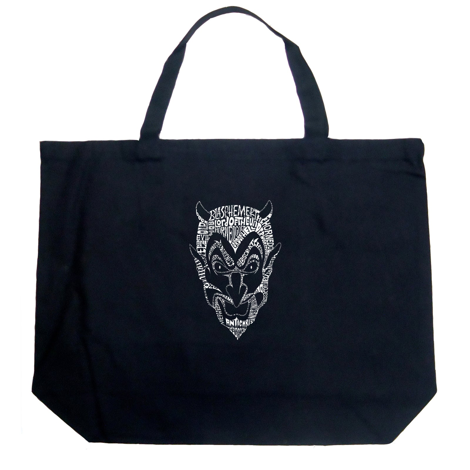 Large Tote Bag - THE DEVIL'S NAMES