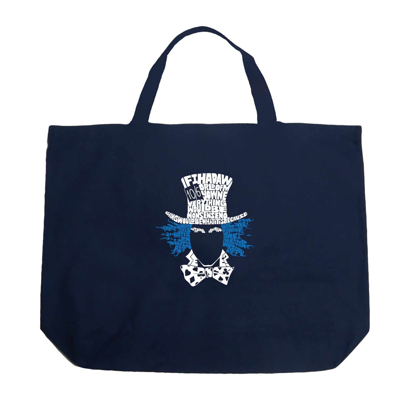 Large Tote Bag - The Mad Hatter