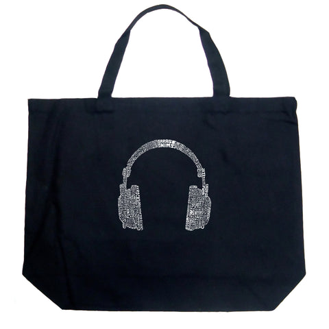 Large Tote Bag - MEXICAN WRESTLING MASK