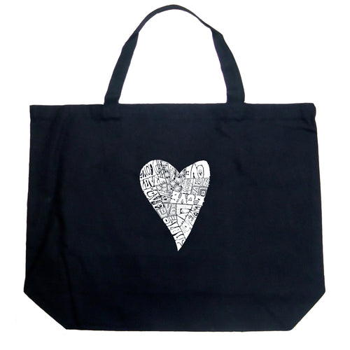 Large Tote Bag - Lots of Love