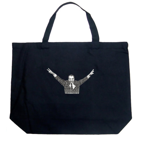 Large Tote Bag - I'M NOT A CROOK