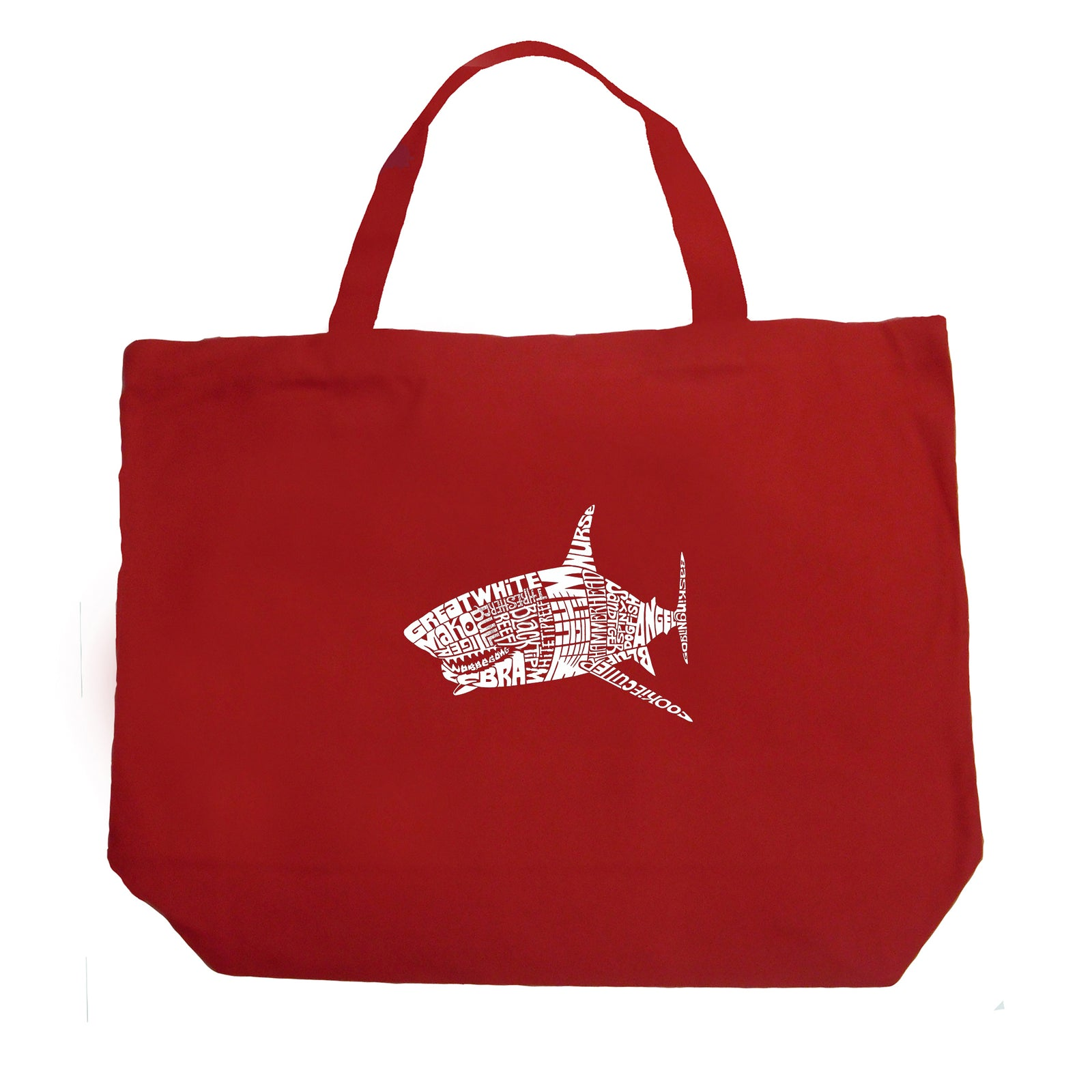 Large Tote Bag - SPECIES OF SHARK