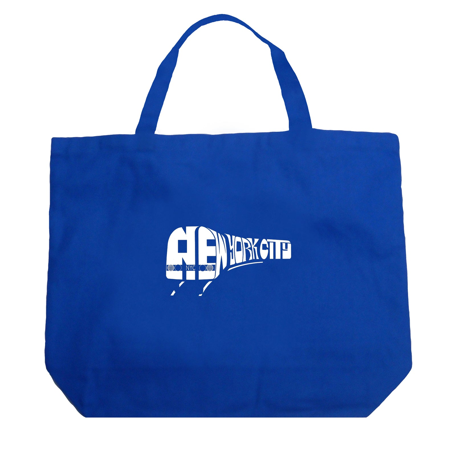 Large Tote Bag - NY SUBWAY