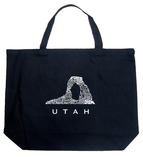 Large Tote Bag - Utah