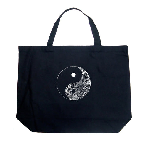 Large Tote Bag - YIN YANG