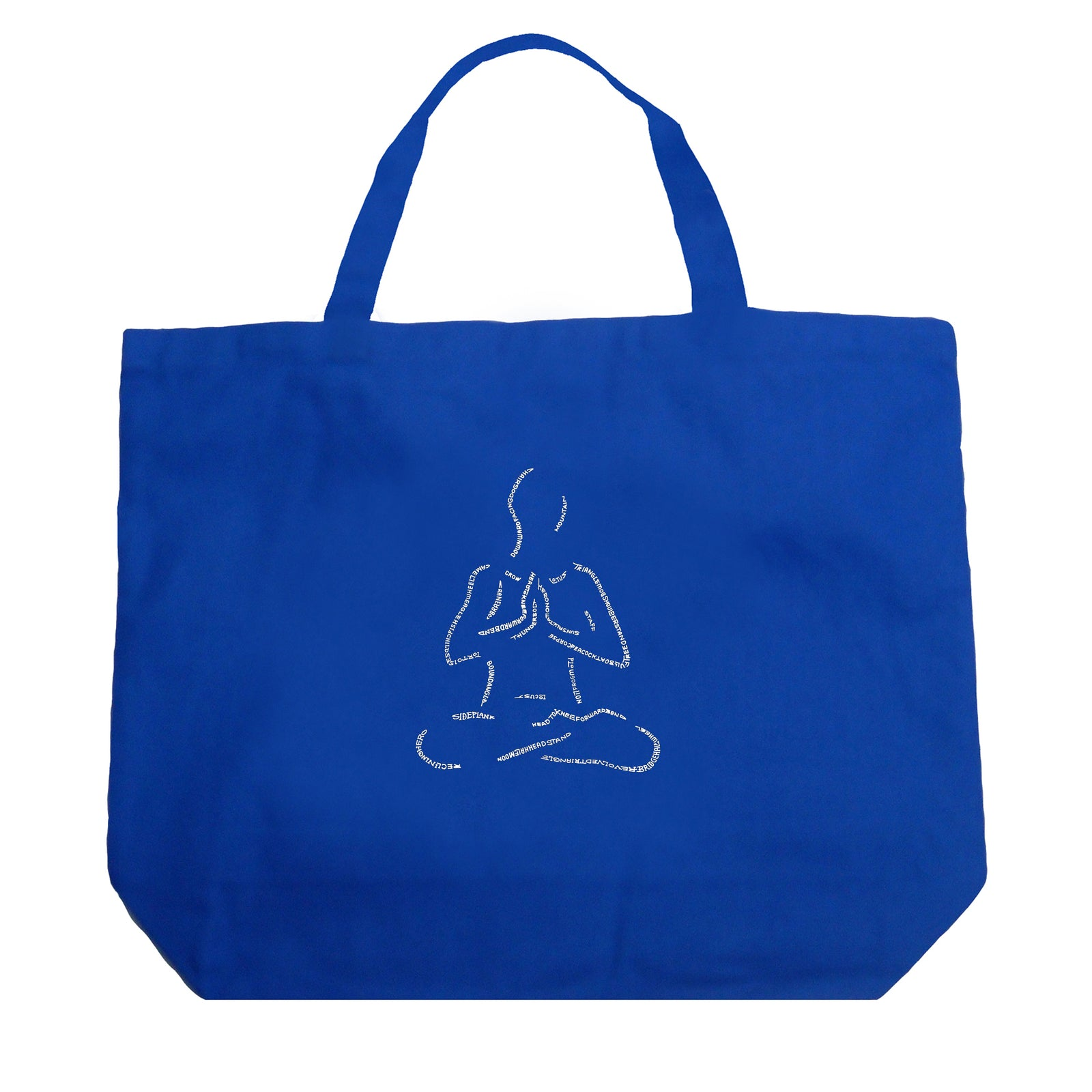 Large Tote Bag - POPULAR YOGA POSES