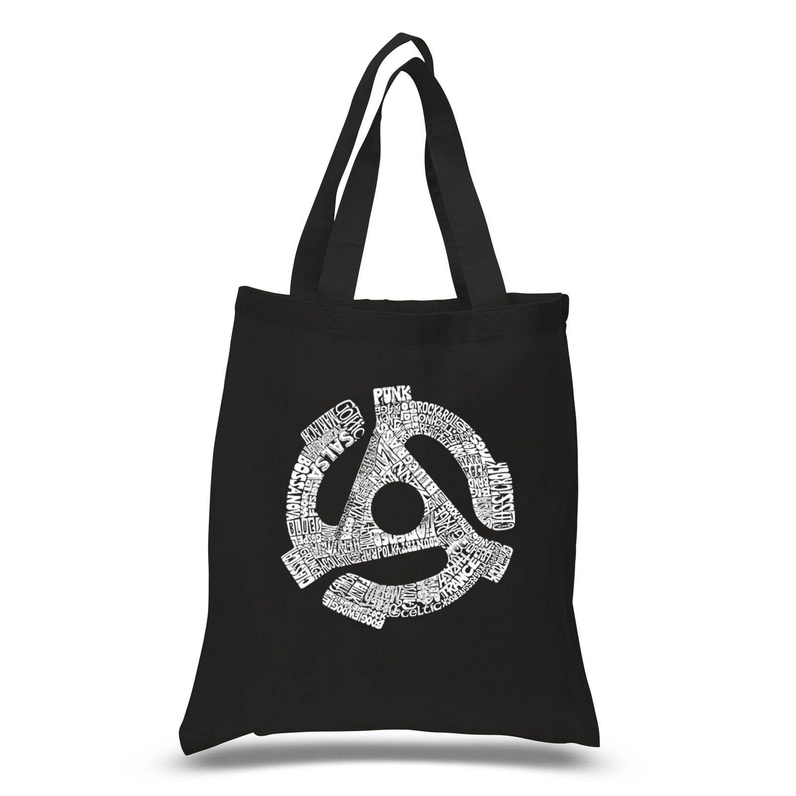 Small Tote Bag - Record Adapter