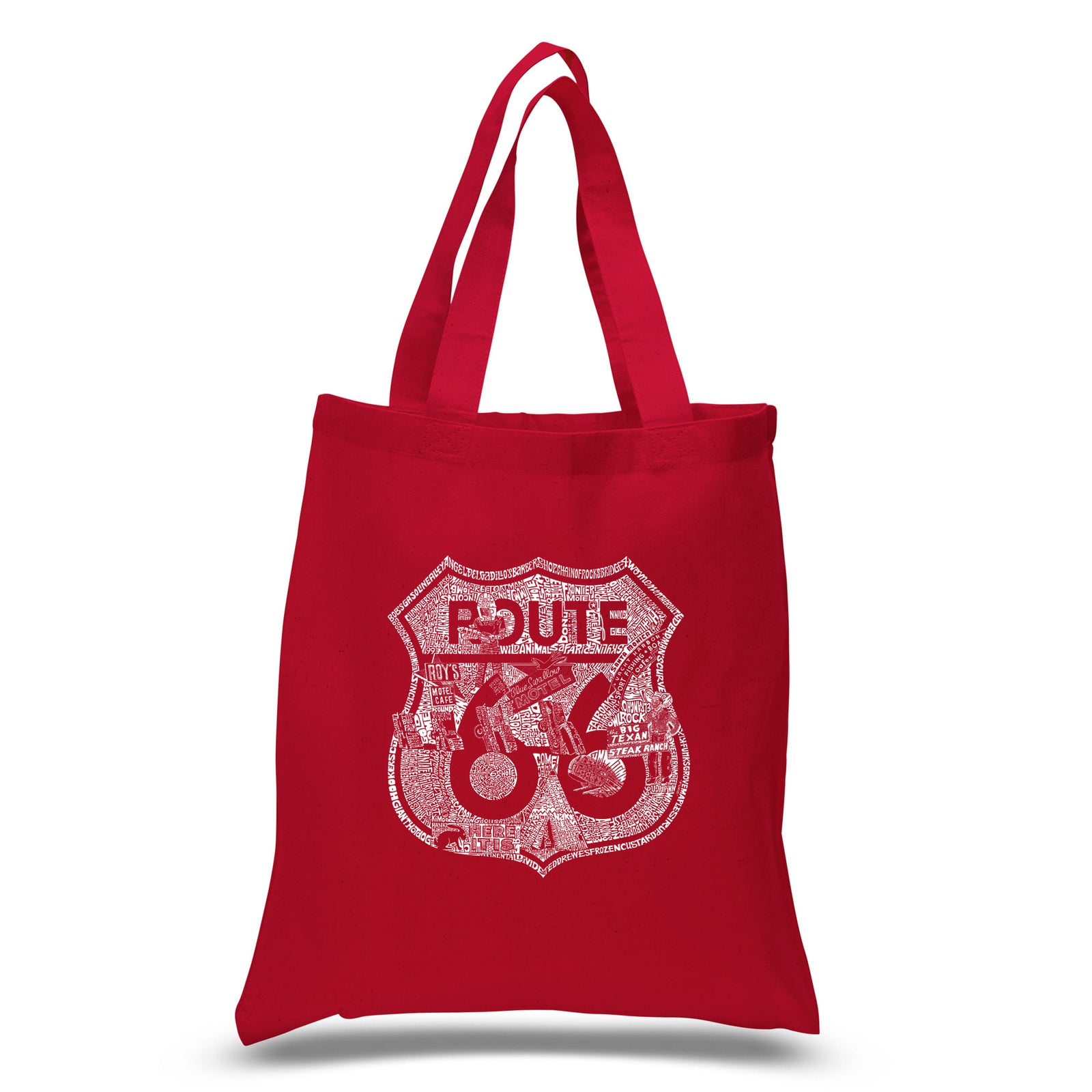 Small Tote Bag - Stops Along Route 66