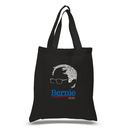 Small Word Art Tote Bag - Bernie Sanders 2020