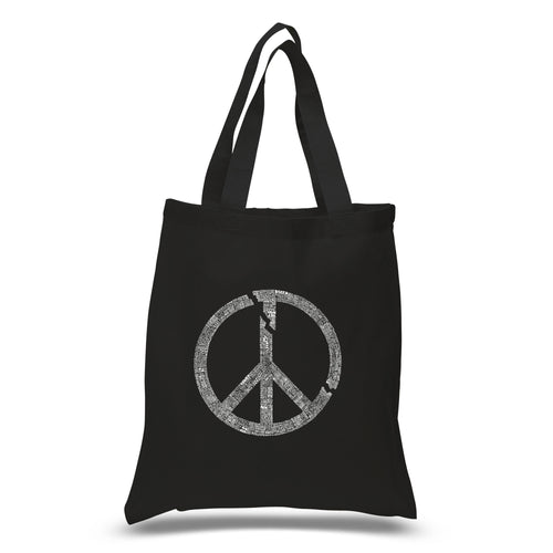 Small Tote Bag - EVERY MAJOR WORLD CONFLICT SINCE 1770