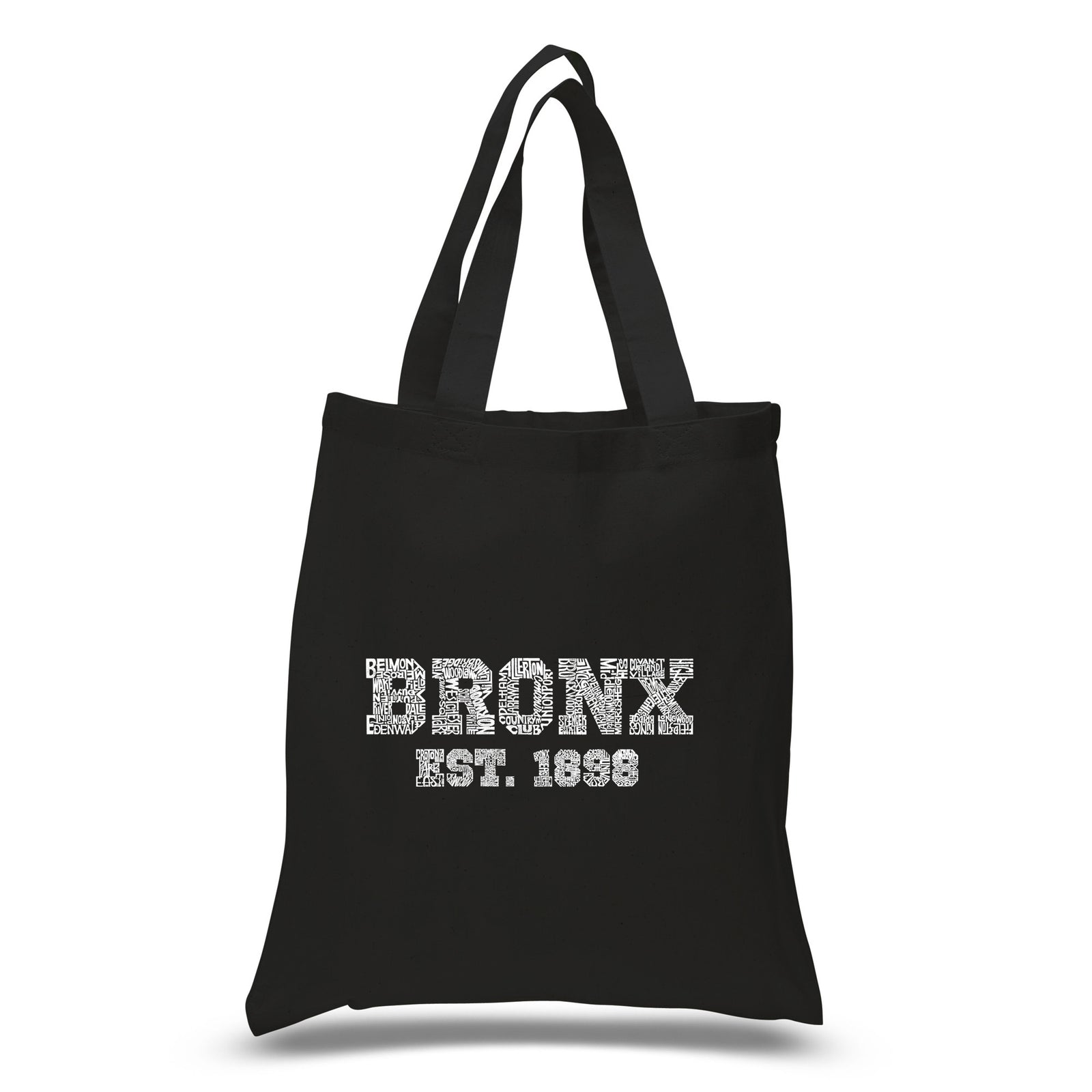 Small Tote Bag - POPULAR NEIGHBORHOODS IN BRONX, NY