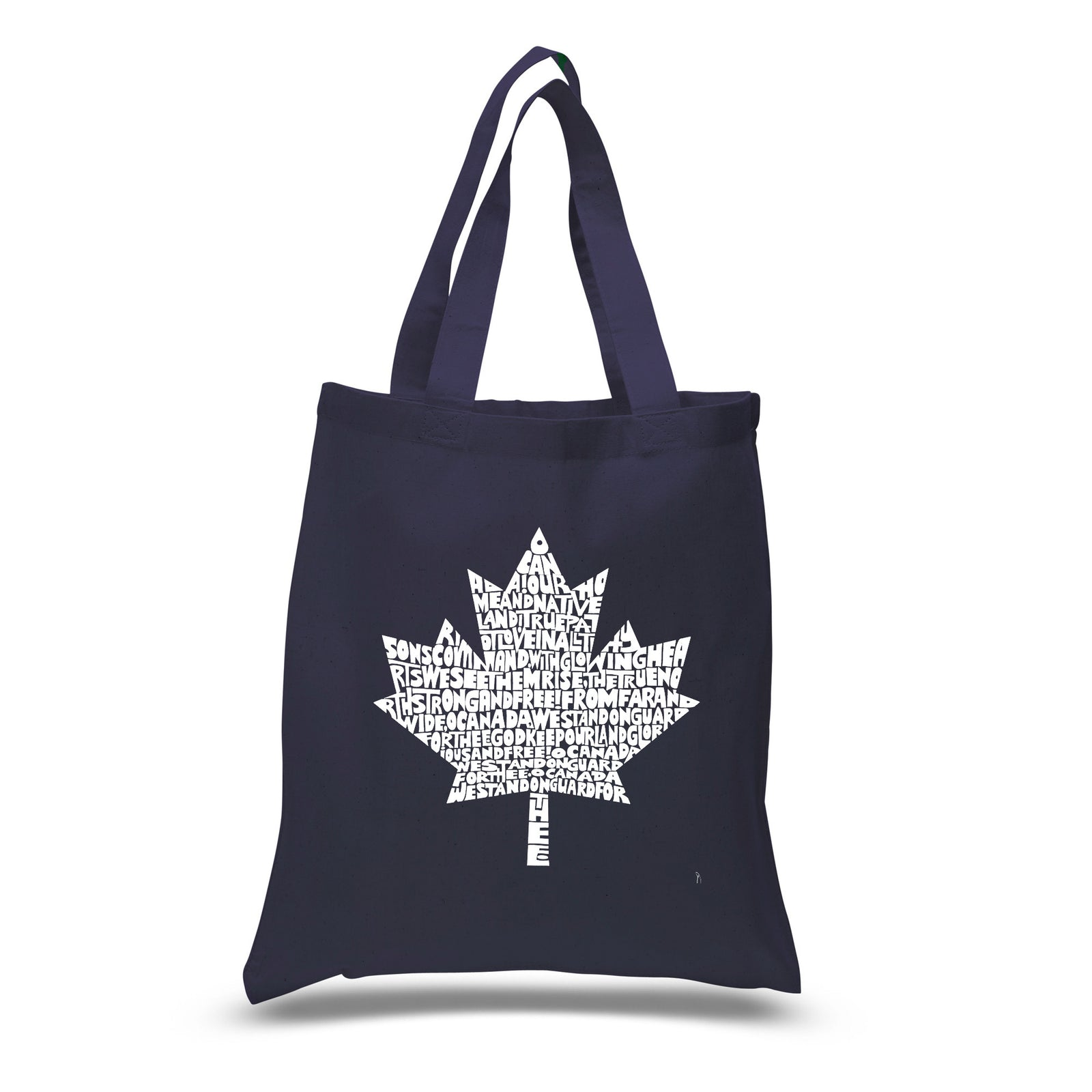 Small Tote Bag - CANADIAN NATIONAL ANTHEM