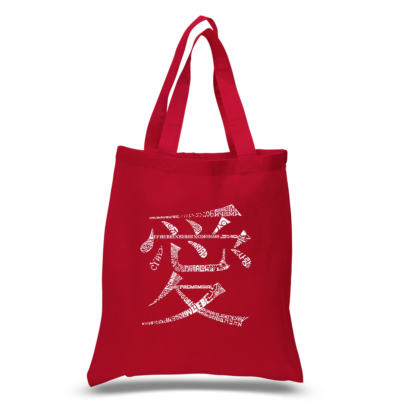 Small Tote Bag - The Word Love in 44 Languages
