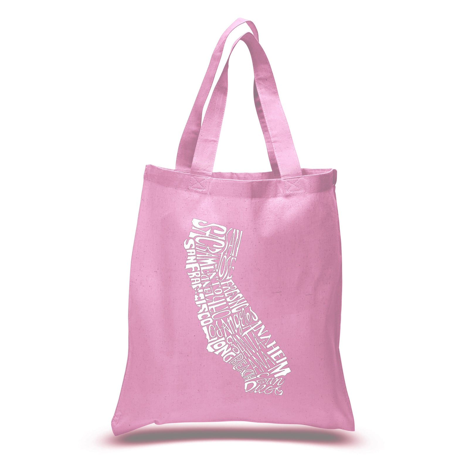 Los Angeles Pop Art Small Tote Bag - California State