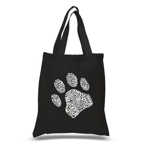 Small Tote Bag - Dog Paw