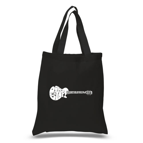 Small Tote Bag - Don't Stop Believin'