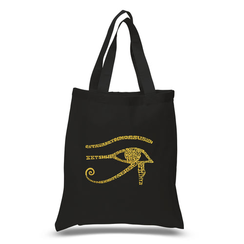 Small Word Art Tote Bag - EGYPT