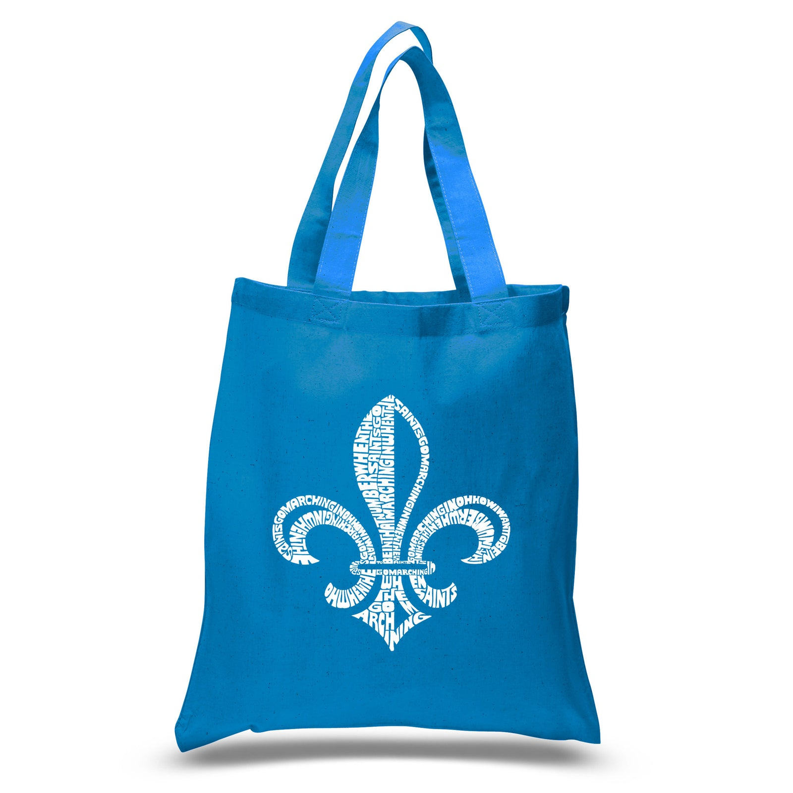 Small Tote Bag - LYRICS TO WHEN THE SAINTS GO MARCHING IN