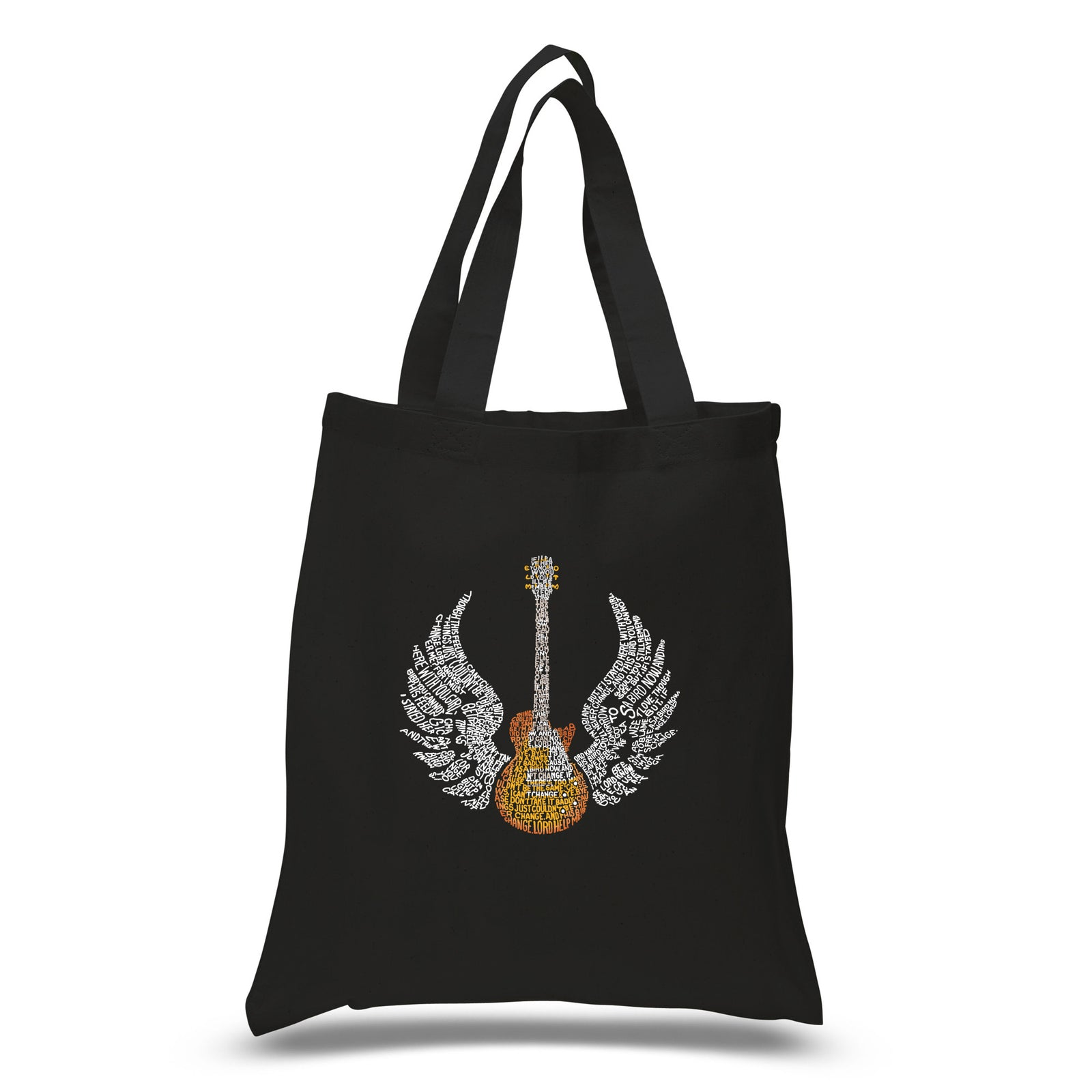 Small Tote Bag - LYRICS TO FREE BIRD