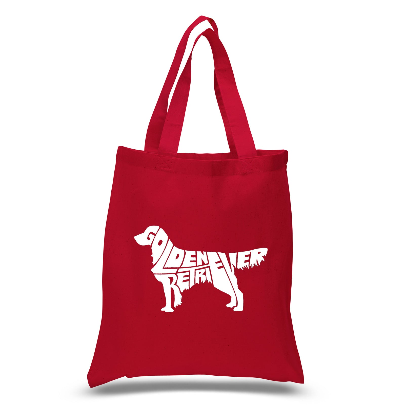 Los Angeles Pop Art Small Tote Bag - Golden Retreiver