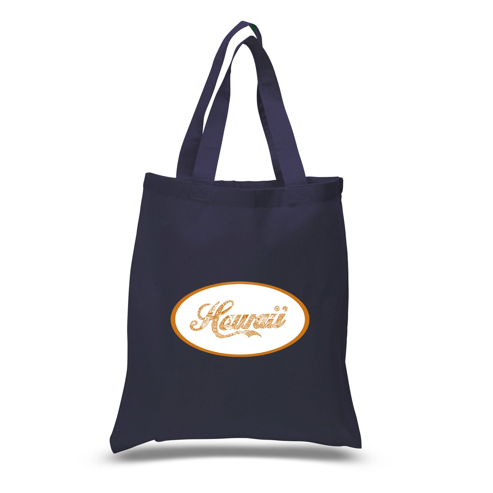 Small Tote Bag - HAWAIIAN ISLAND NAMES & IMAGERY