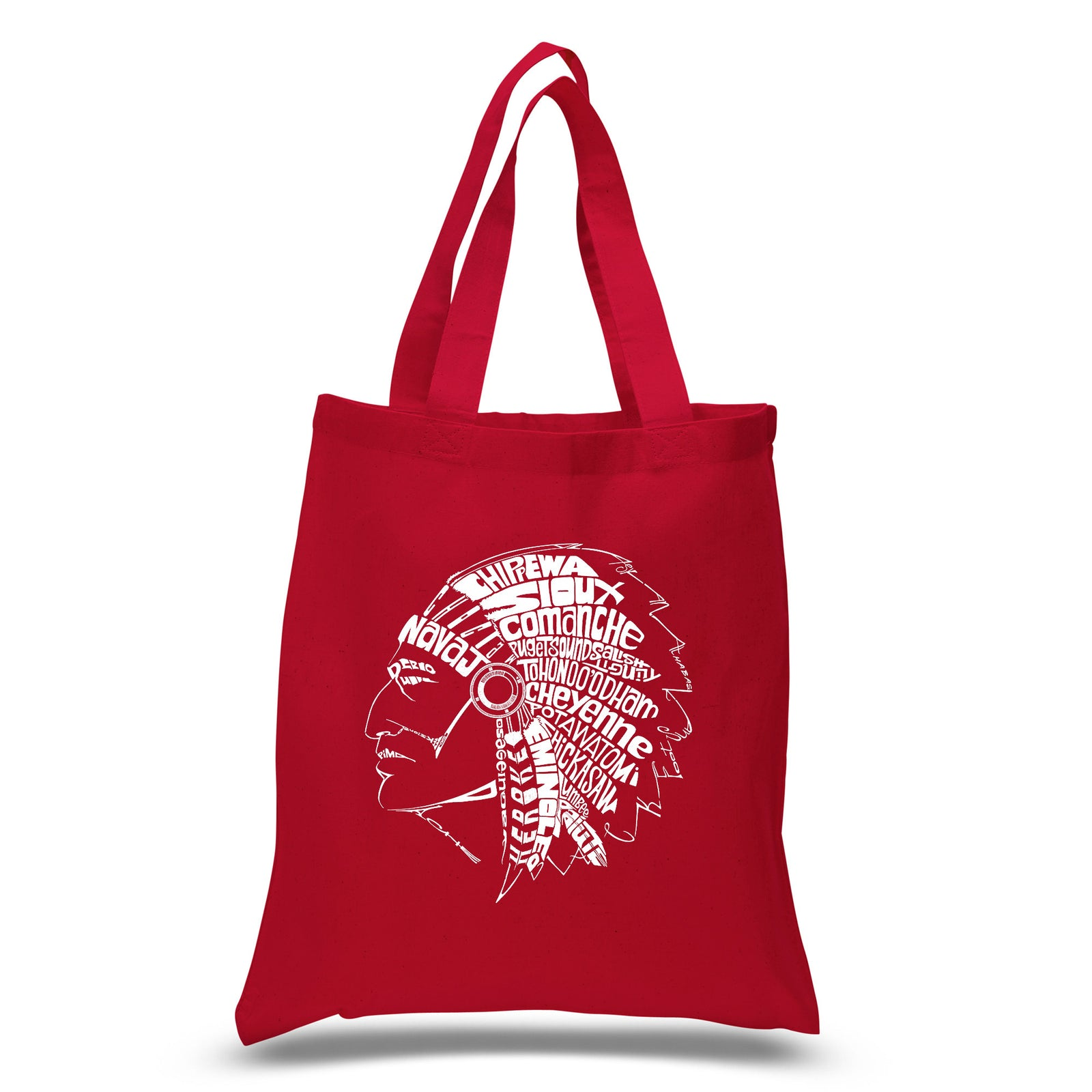 Small Tote Bag - POPULAR NATIVE AMERICAN INDIAN TRIBES