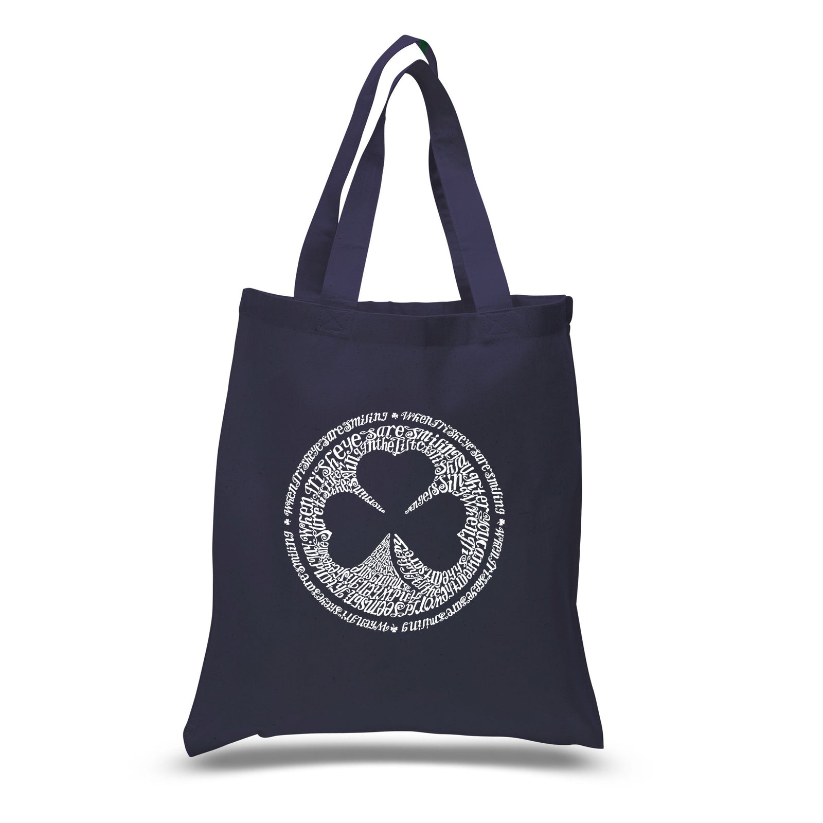 Small Tote Bag - LYRICS TO WHEN IRISH EYES ARE SMILING