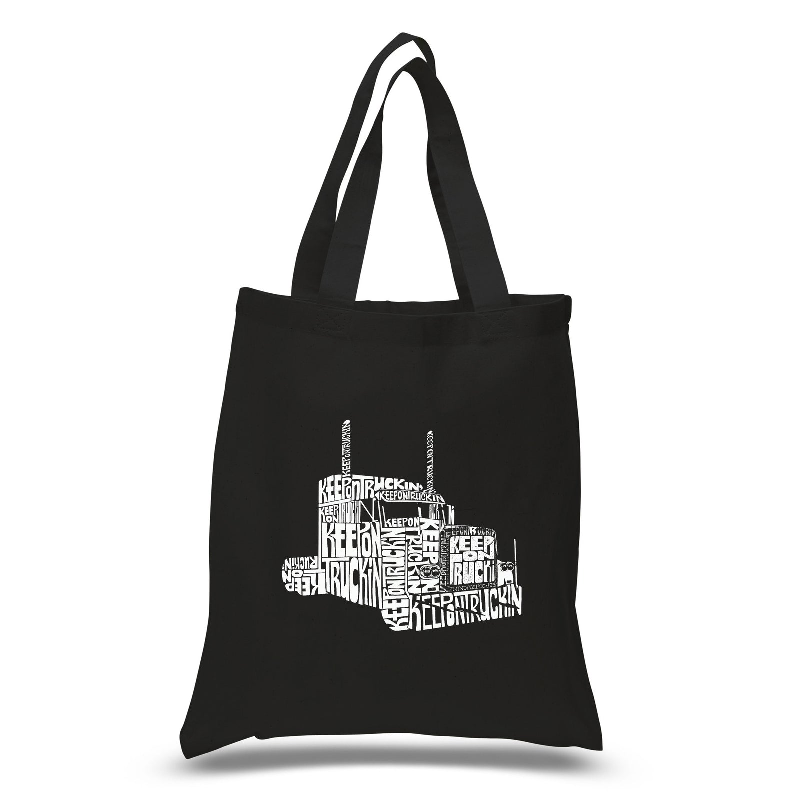 Small Tote Bag - KEEP ON TRUCKIN'