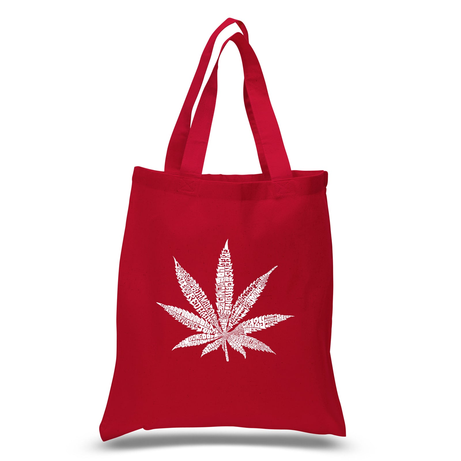 Small Tote Bag - 50 DIFFERENT STREET TERMS FOR MARIJUANA