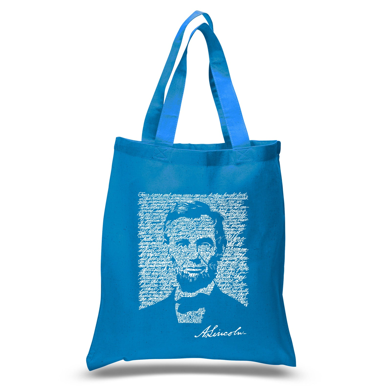 Small Tote Bag - ABRAHAM LINCOLN - GETTYSBURG ADDRESS