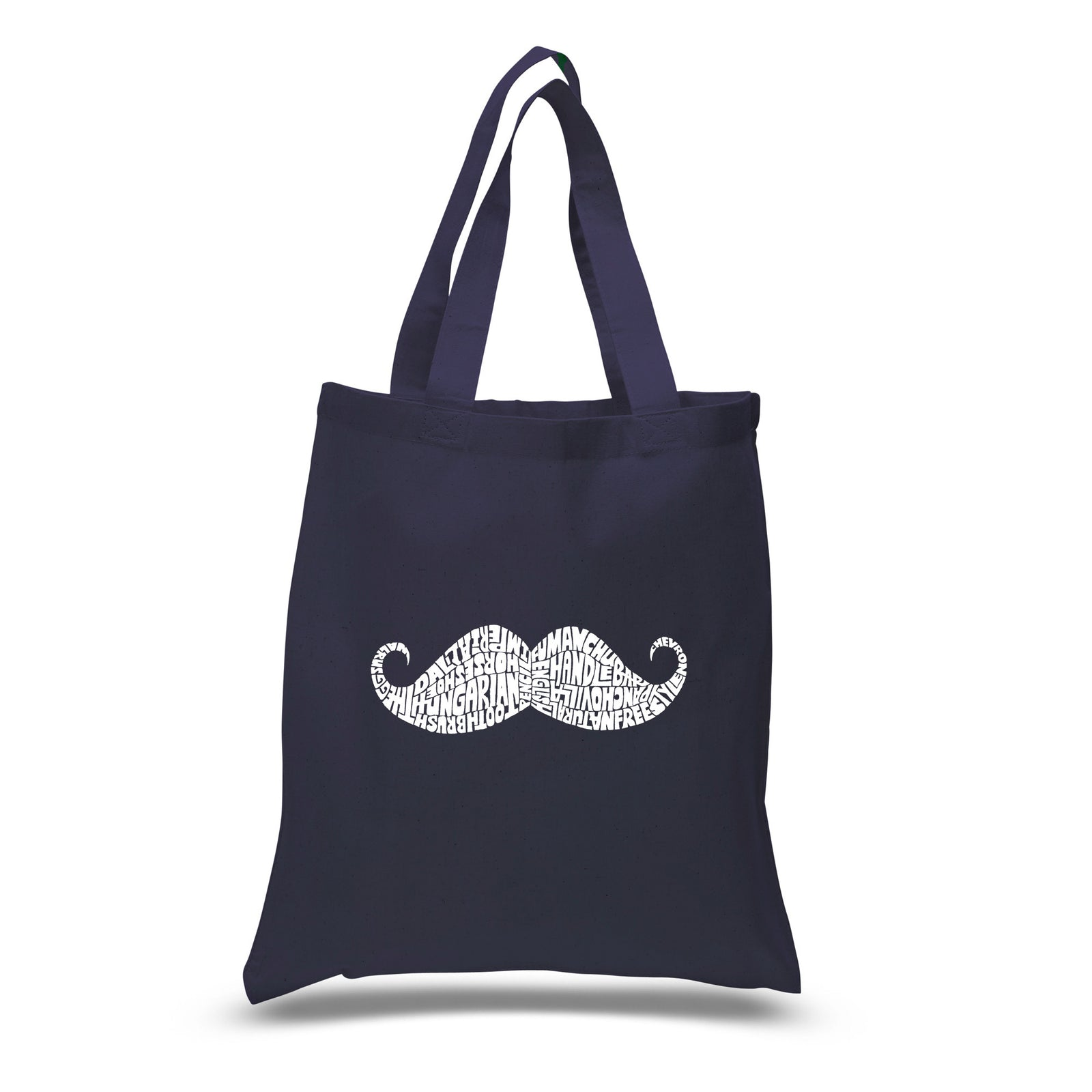 Small Tote Bag - WAYS TO STYLE A MOUSTACHE