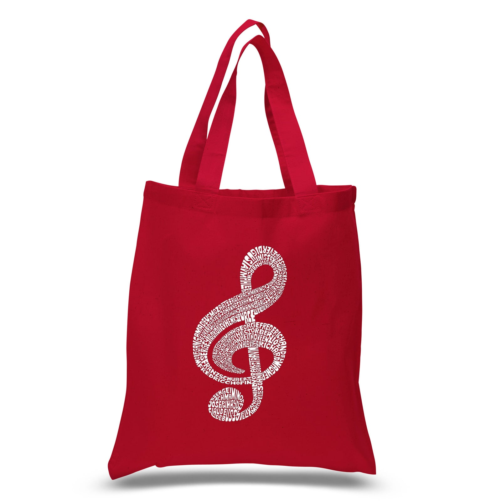 Los Angeles Pop Art Small Tote Bag - Music Note