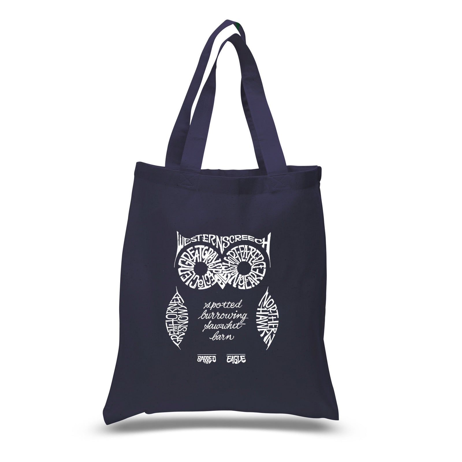 Los Angeles Pop Art Small Tote Bag - Owl