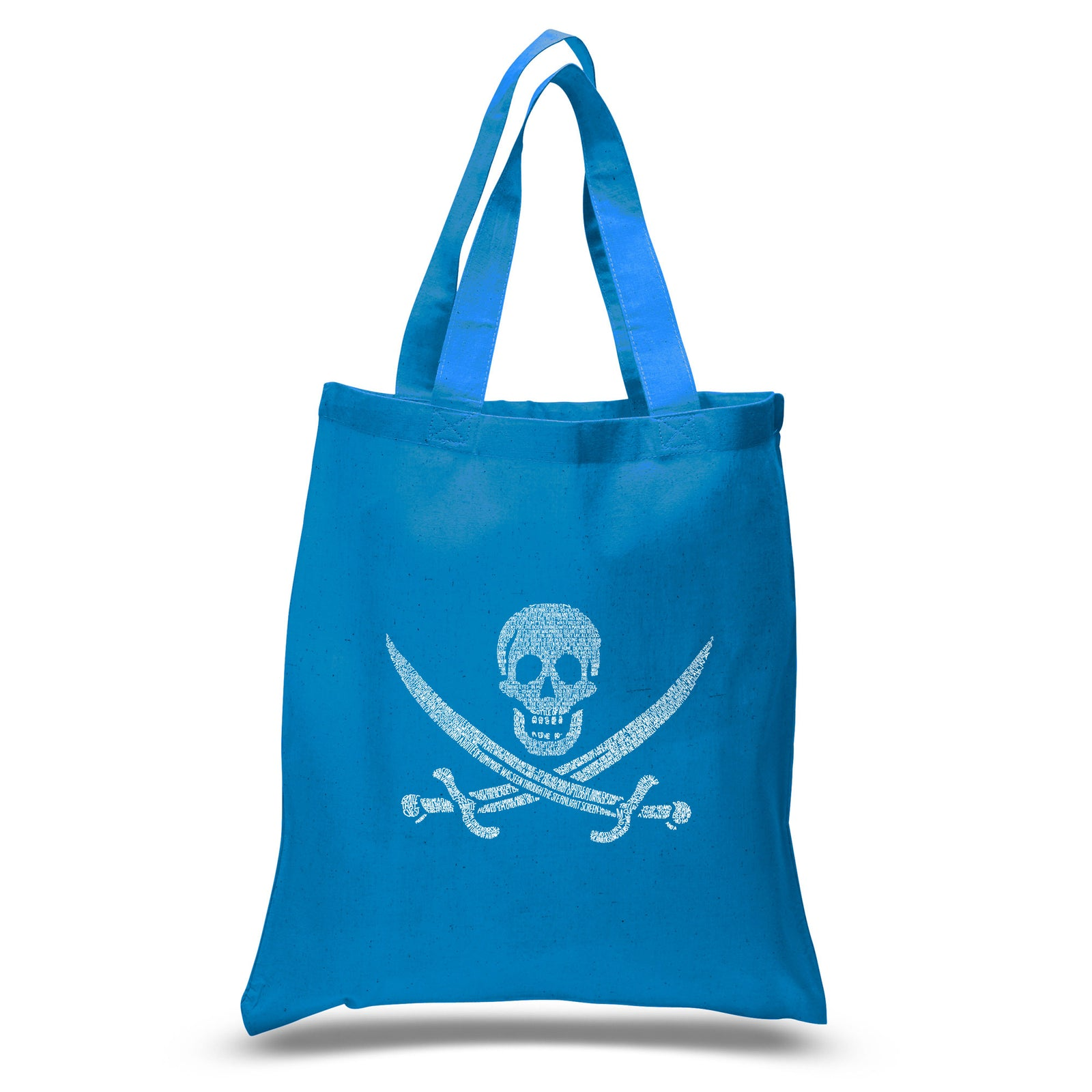 Small Tote Bag - LYRICS TO A LEGENDARY PIRATE SONG